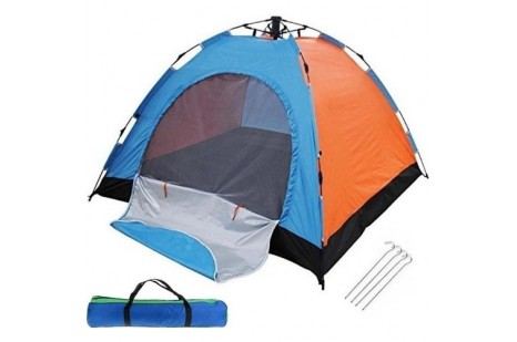 Otomatik Kurulumlu Kamp Çadırı 4-5 Kişilik (200x200)