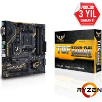Asus TUF B350M-PLUS GAMING DDR4 S+V+GL AM4 (mATX)