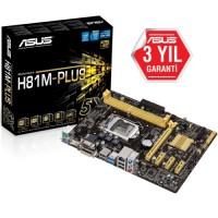 Asus H81M-P PLUS DDR3 S+V+GL 1150p (mATX)