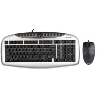 A4 Tech KB-21620D Klavye Mouse Set / Siyah / USB