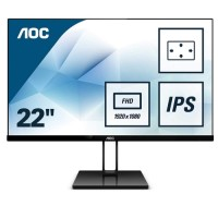 AOC 21.5 22V2Q IPS Gaming Monitör 5ms Siyah