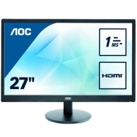 AOC 27 E2770SH LED MM Monitör 1ms Siyah
