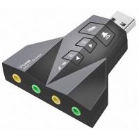 Hytech HY-U710 USB 2.0 Ses Kartı 7.1