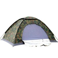 6 Kişilik Askeri Kamuflaj Desenli Kamp Çadırı (220x250x150)