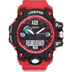 JoeFox Dinamiksaatplus Joefox Marka Saat (Kırmızı)